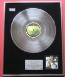 THE BEATLES - Let It Be PLATINUM LP presentation Disc